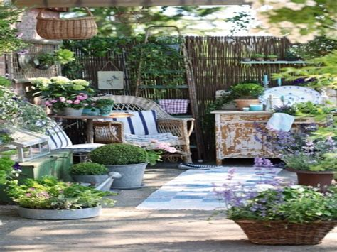 front yard furniture shabby chic decorating ideas