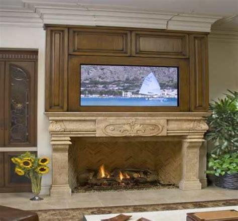 tv  fireplace images     built