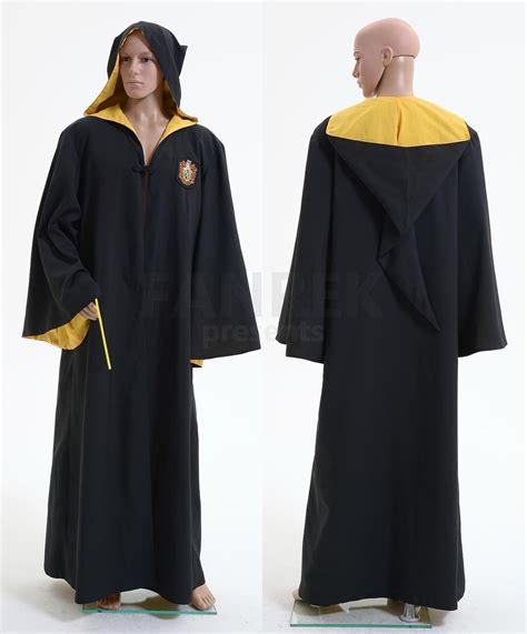 Harry Potter Hufflepuff Of Hogwarts Robe Costume Fangirl