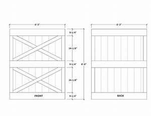 barn door construction how to build sliding barn doors With barn door thickness
