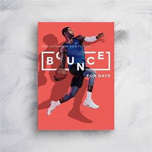 Create Business Flyer Nike Bounce For Days Product Poster Example Venngage