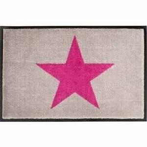Gift Company Fußmatte : gift company fussmatte star beige pink waschbar ~ A.2002-acura-tl-radio.info Haus und Dekorationen