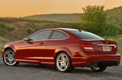 La clase c coupé presenta un aspecto más musculoso que nunca. 2013 Mercedes-Benz C-Class Coupe Rear 3-4 Left - egmCarTech
