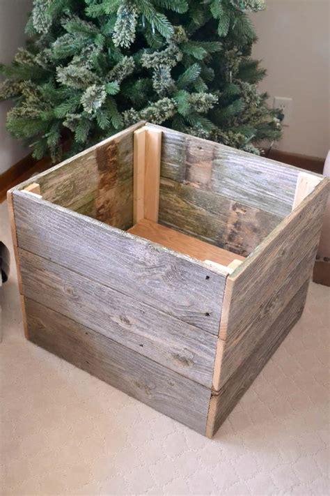 repurposed christmas tree box my creative days