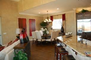 Open-Concept Kitchen Living Dining Room