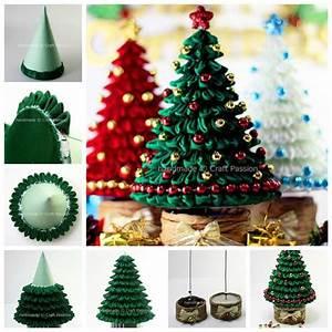 Creative Ideas - DIY Mini Christmas Tree with Chocolates