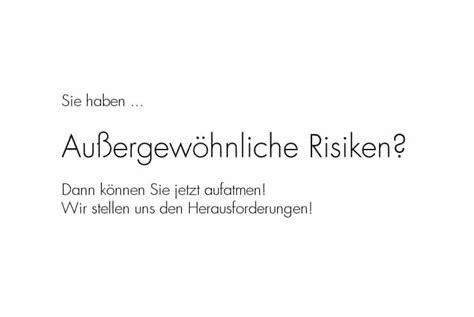 Versicherung Die Risiken Freundschaftsdiensten by Au 223 Ergew 246 Hnliche Risiken Absicherung Vom