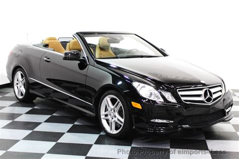 Within {{ yearlabel }} to {{ vehiclelabel }} + add vehicle more filters. 2013 Used Mercedes-Benz CERTIFIED E550 V8 AMG SPORT CONVERTIBLE P2 NAVI at eimports4Less Serving ...