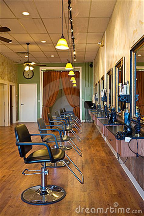 beauty salon interior royalty  stock photography