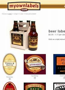 custom beer labels for your own brewed beer home beer makers With beer with your own label