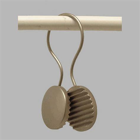 gordijnroede met ringen gordijnroede 20 mm ring met ronde clip zwart 30 mm lengte