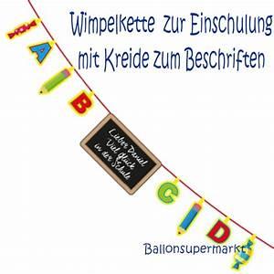 Tafel Zum Beschriften : ballonsupermarkt girlande mit kreide zum ~ Lizthompson.info Haus und Dekorationen