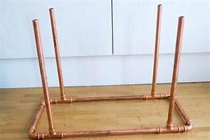 Regal Aus Rohren : zeitschriften beistelltisch aus kupferrohren selber bauen ~ Michelbontemps.com Haus und Dekorationen