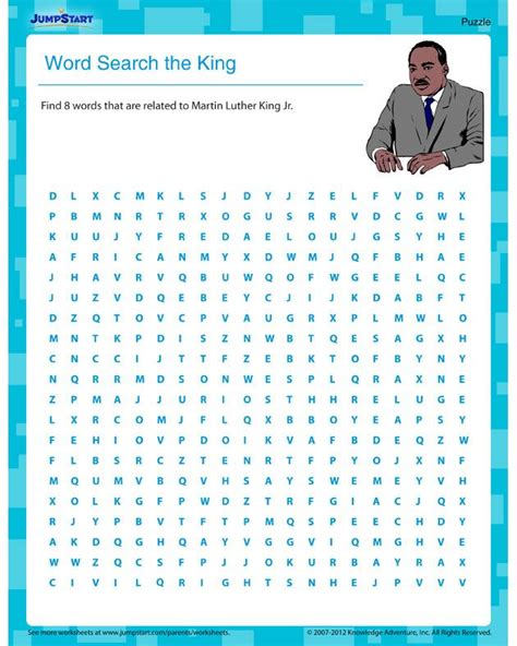 martin luther king jr worksheets word search 19 best therapy word search images on pinterest