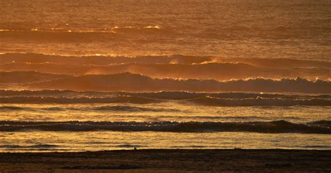 Shooting From The Hip: Waves at sunset - Seaside, Oregon ...