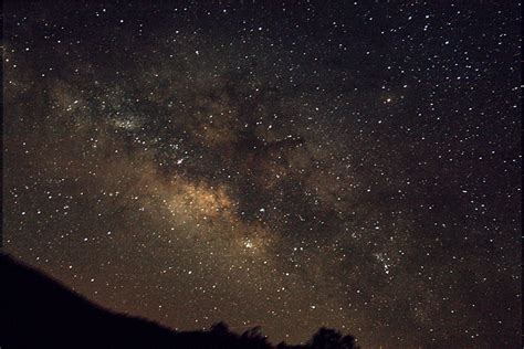 Milky Way Galaxy Southwest New Mexico Silver City