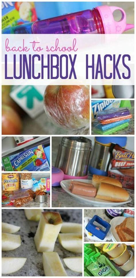 back to school hacks to lunchbox hacks 36 amazing tricks for school lunches