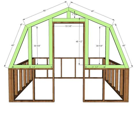 White Wood Shed Plans by White Build A Barn Greenhouse Free And Easy Diy