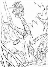 Coloring Wars Printable Mace Windu sketch template