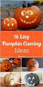 16, Easy, Pumpkin, Carving, Ideas, U2013, Tip, Junkie