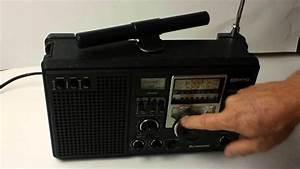 Vintage 8-Band Panasonic Model RF-2200 Short Wave Radio ...