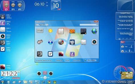 gadgets bureau windows 7 10 superb aero glass gadgets for windows 7