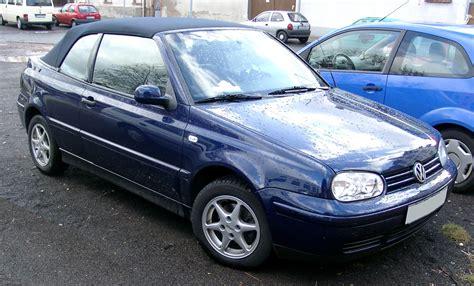 vw golf cabrio datei vw golf iv cabrio front 20080106 jpg