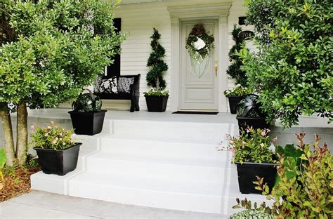 how to remove paint from concrete porch how to stripe your steps thistlewood farm