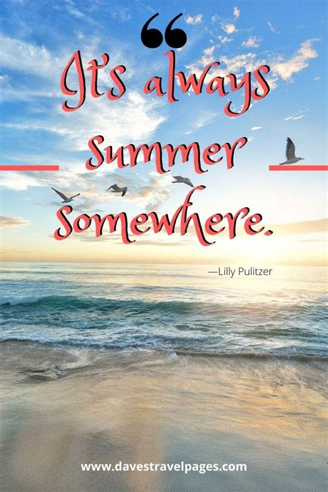 Summer Vacation Quotes: 50 Best Vacation and Summertime Quotes