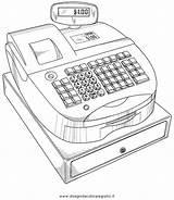 Cassa Registratore Disegno Register Cash Patents Misti Colorare Drawing Patent Disegni Condividi sketch template