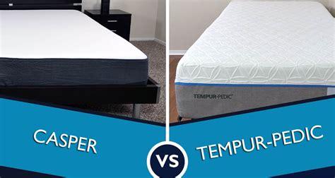 tempurpedic mattress reviews casper vs tempurpedic mattress review sleepopolis
