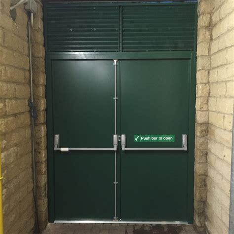 steel security doors fire escapes