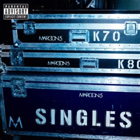 singles maroon  discografia vagalume