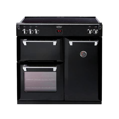 stoves induction range cooker richmond 90cm induction range cooker black