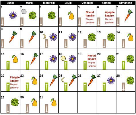 jardiner avec la lune 2016 calendrier lunaire