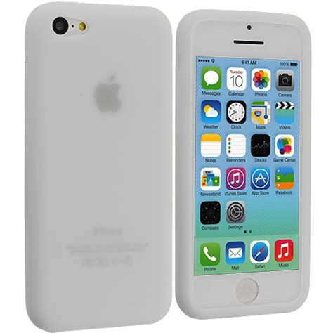 iphone 5c for for apple iphone 5c color silicone rubber soft gel skin