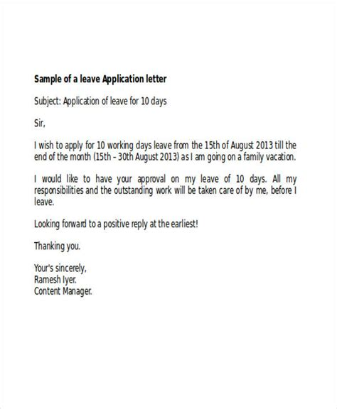 application letter examples samples  editable