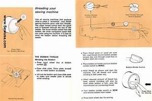 Singer 534 Stylist Sewing Machine Threading Diagram