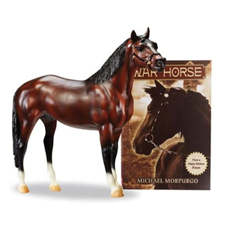 War Horse Joey by Breyer with Book