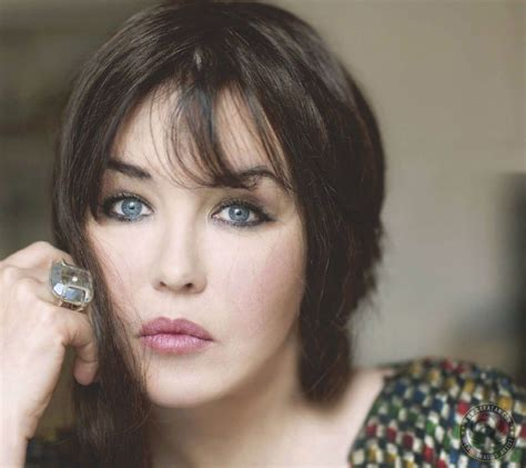 hair eyes isabelle adjani rare
