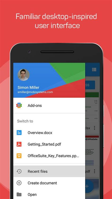 edit pdf android officesuite pdf editor android apps on play