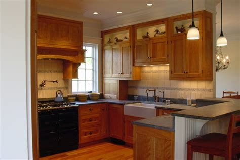 cabinet makers portland maine red birch kitchen traditional kitchen portland maine