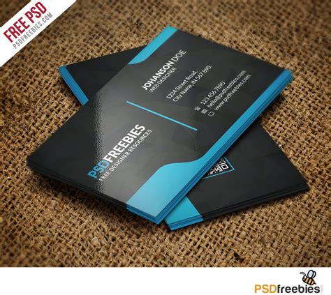 creative graphic designer business card template  psd
