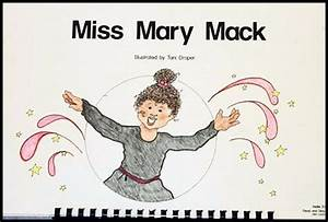 """Miss Mary Mack"" is a favorite Nellie Edge Read and Sing ..."