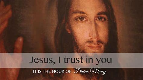 jesus trust
