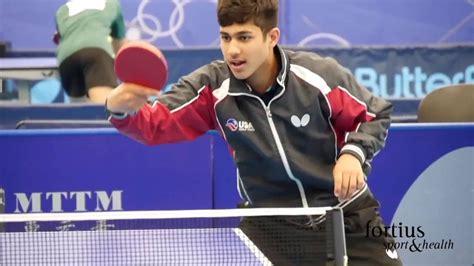 usa table tennis ratings kanak jha 16 year old team usa table tennis prodigy