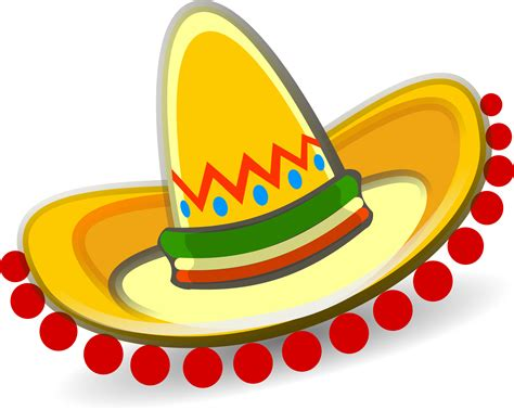 Sombrero Clip Clipart Sombrero