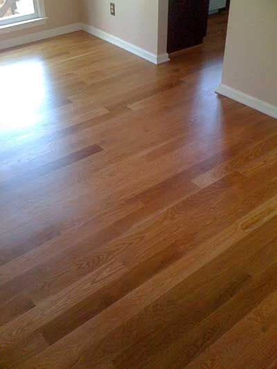 white oak duraseal golden pecan stain bona mega satin