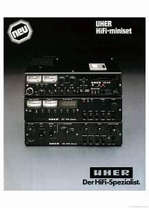 Uher Hifi Miniset Product Catalogue
