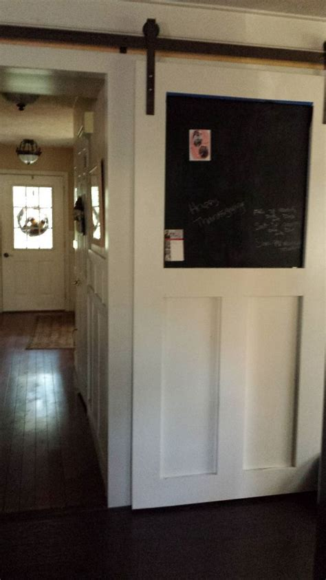 hometalk   build  pantry barn door